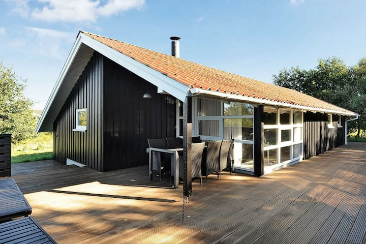 Quaint Holiday Home in Fanø with Sauna