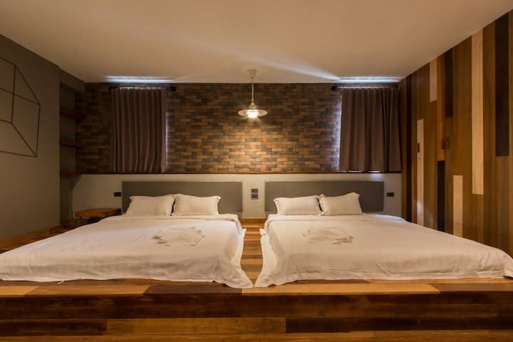 Family suite room @space59 - Tambon Na Muang - Appartamento