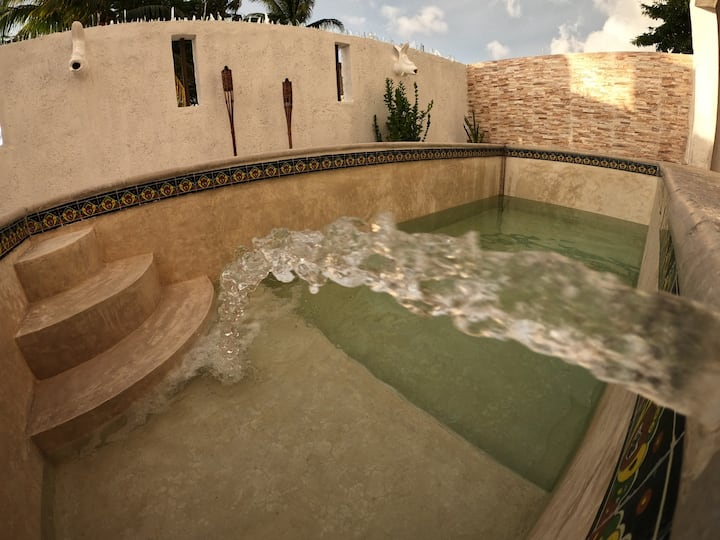 Chicxulub House With Pool (facturamos iva inc)