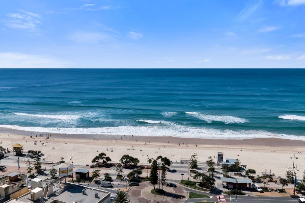 All our apartments have ocean views!