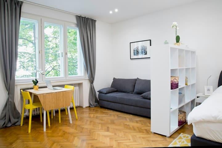 TOP City Center Studio Apartment. SUPERHOST