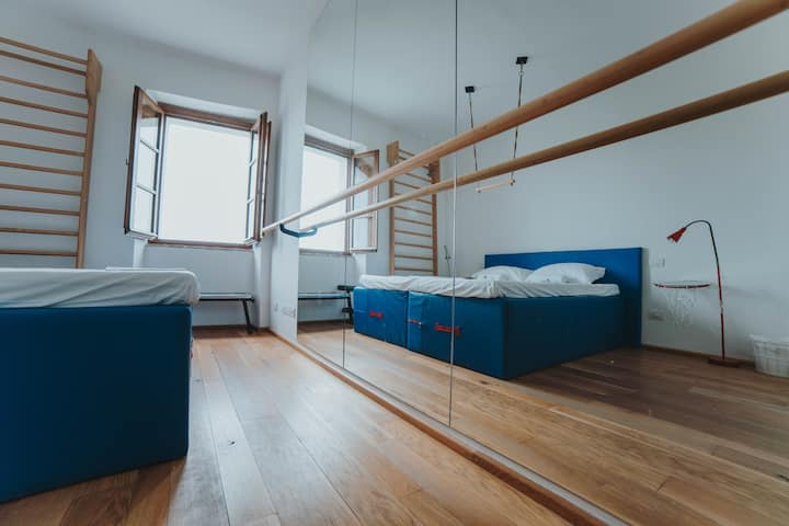 Superior Twin/Double Room @ Ostello Bello Assisi