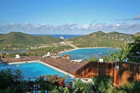 Luxury Apartment w/ panoramic view - Gustavia - Apartamento