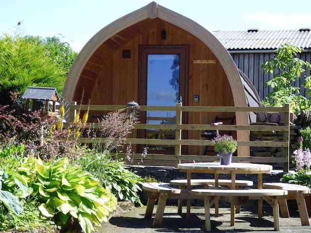 GlampingPod@Mosedale End Farm in a Rural location.