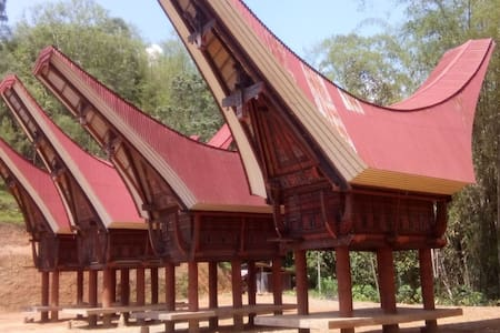 Bombong Tongkonan Traditional House - Rantepao/Pangli - Bed & Breakfast