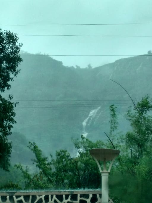 Waterfall View in theMonsoons