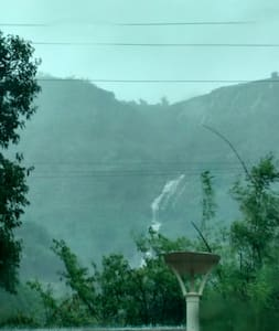 Waterfall Facing Bunglow at Lonavala - Pune