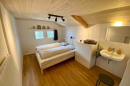 Arosa: Neu renovierte 4 Zimmer Wohnung mit Garten