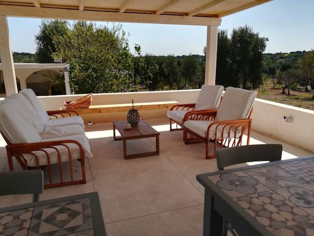 Lem Lem B&B Ostuni camera terrazza con cucina