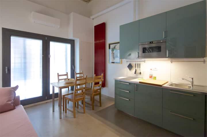 brand-new groundfloor apartment close to Navona