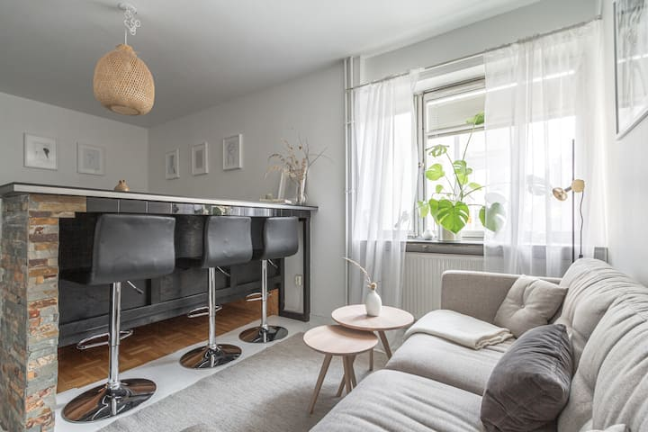 Designer Studio Apt in the heart of Södermalm
