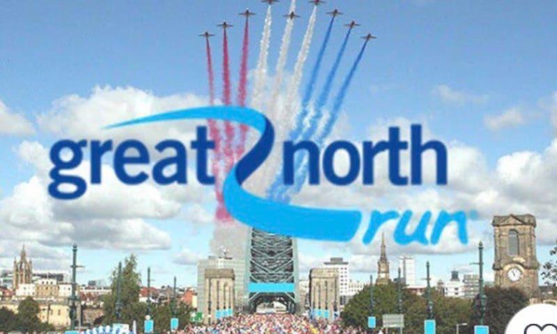 Great North Run B&B 1 mile from start