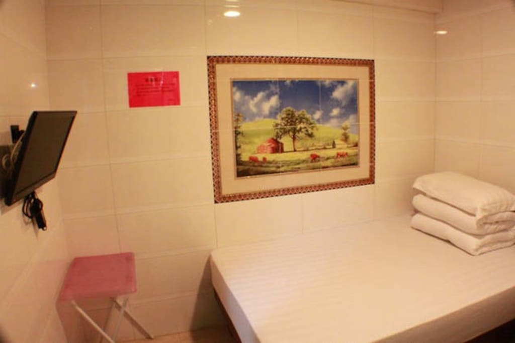 comfortable guest room with private washroom