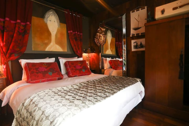 SweetHOME L&B chambre Paquebot - Asnières-sur-Oise - Bed & Breakfast