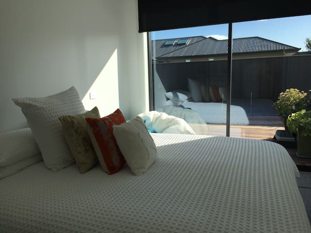 Bedroom 1 with Super king bed