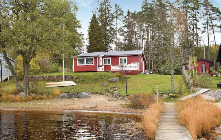 Nice home in Gnossjö with 1 Bedrooms