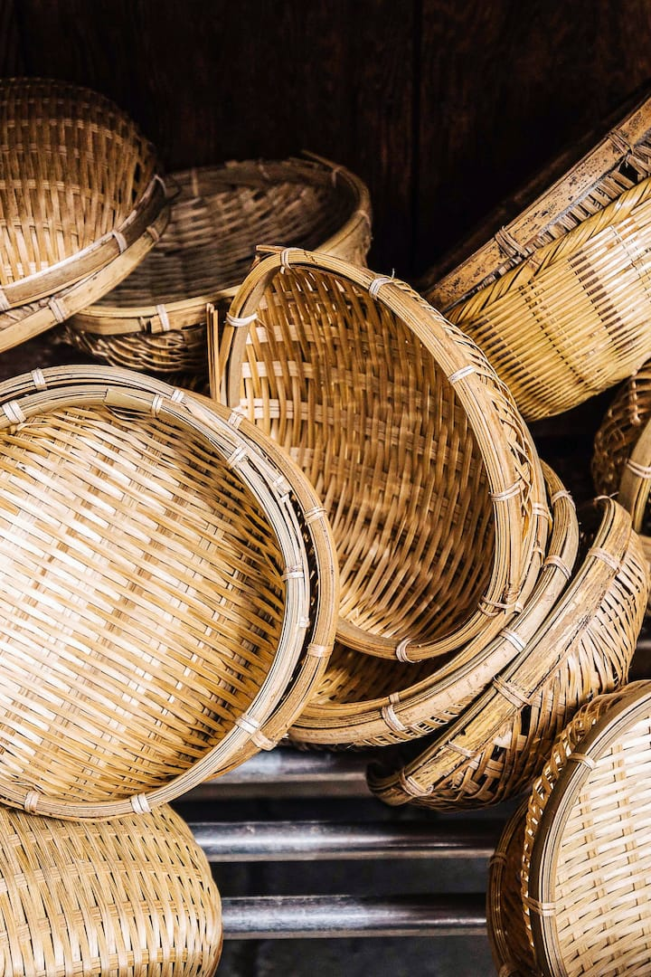 Zenarai Benten Money Laundering Baskets