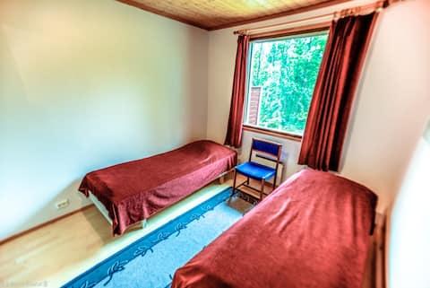 Room for two,near the lake + Sauna: Sevetin Rautu.