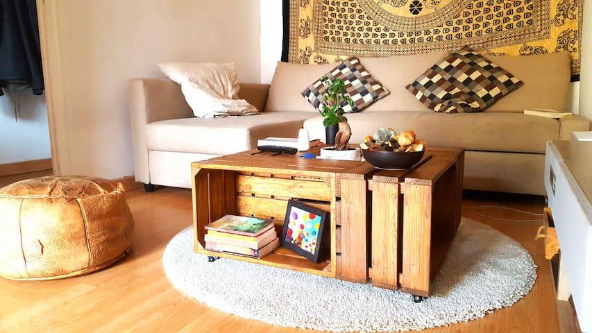 Habitación doble con balcón - home sharing