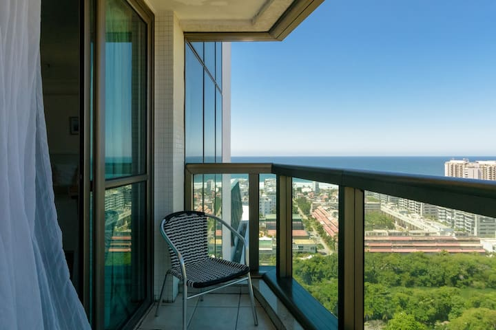 Apart-Hotel de luxo na Barra da Tijuca - Rio de Janeiro - Daire