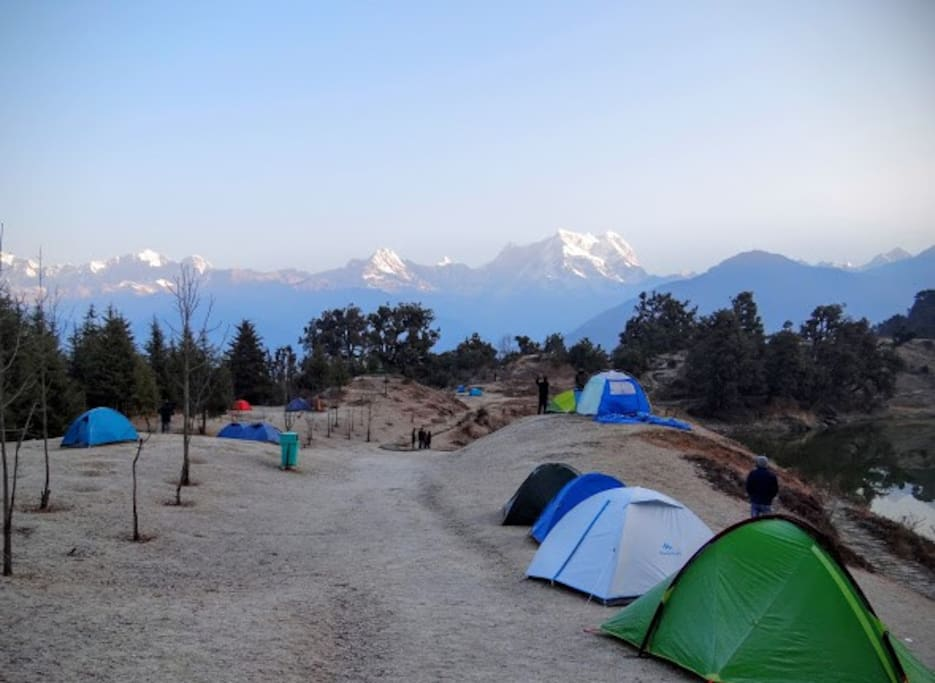 Deoria Lake Camp site