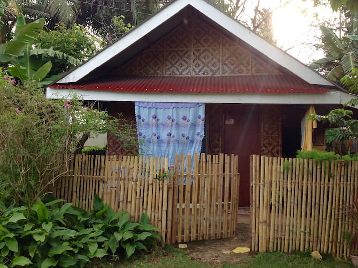 Home Stay at Shared Mini Native House with Garden