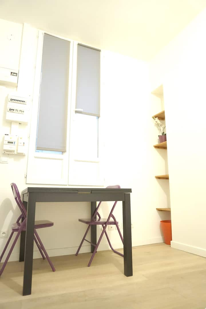 Simple studio du centre Paris