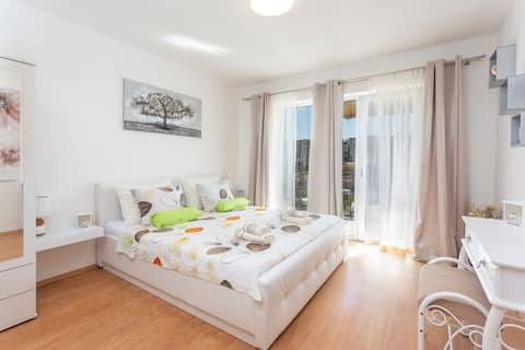 Centrally Located new spacious  room with balcony.