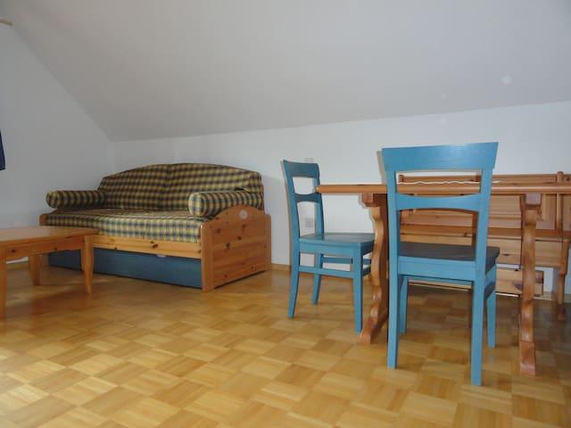 The blue apartment