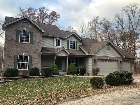 Country homes lower level, private entrance/space