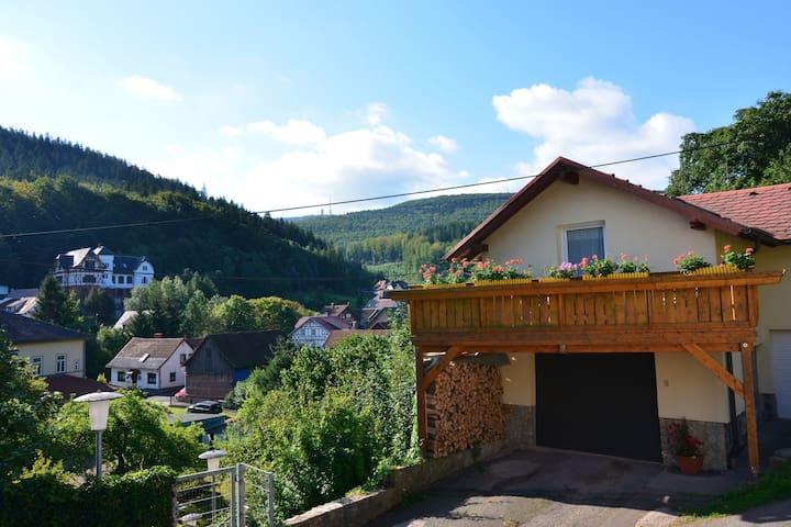 Meadow-View Cottage in Winterstein Thuringia near Ski Area