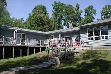 Waterfront Home, snowmobiling, hunting, fishing