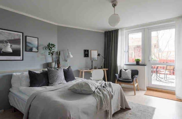 Scandinavian minimalism. Private apartment.