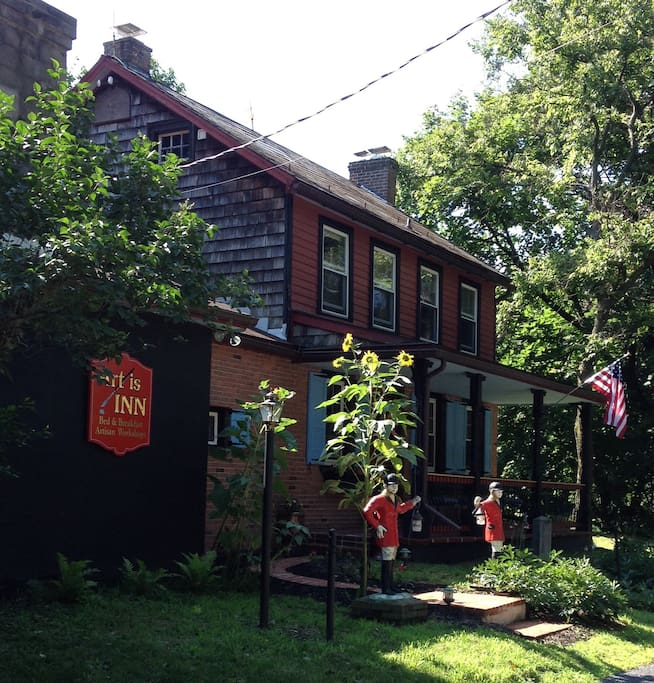 The front of the Inn