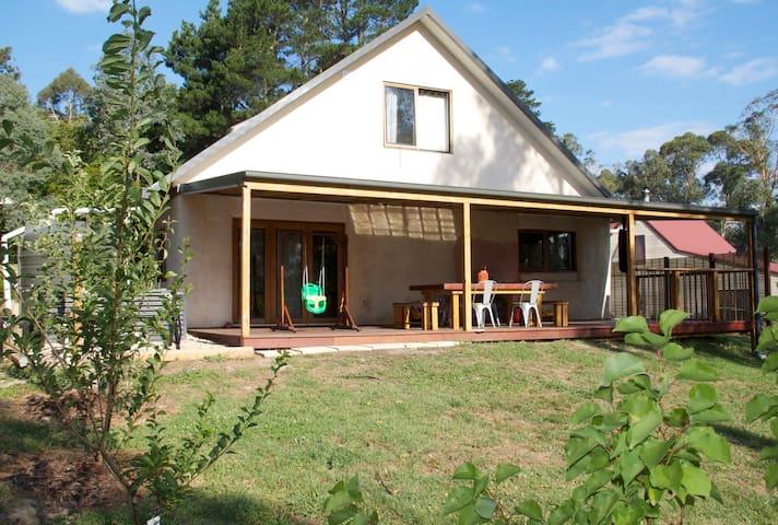 Straw Bale House in Healesville
