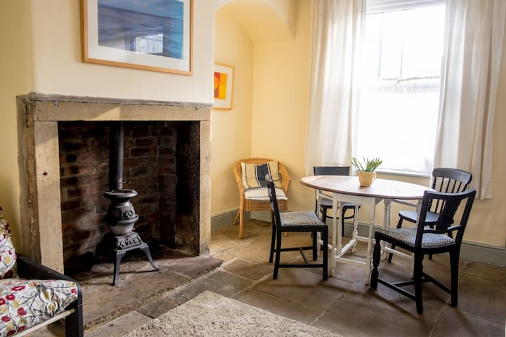 Stylish central terraced house with parking