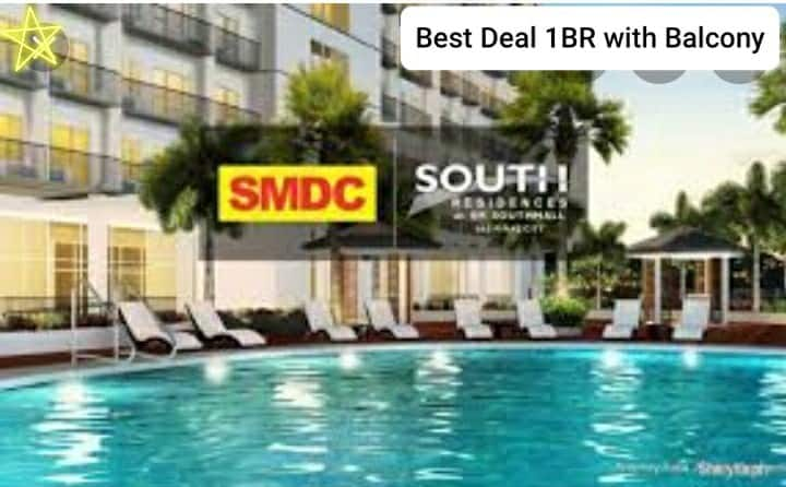 Best Deal 1BR + Balcony for Rent near SM Southmall