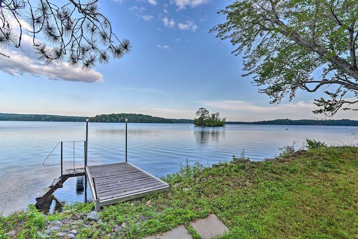 NEW! Life on the Lake w/ Private Dock & Fire Pit!