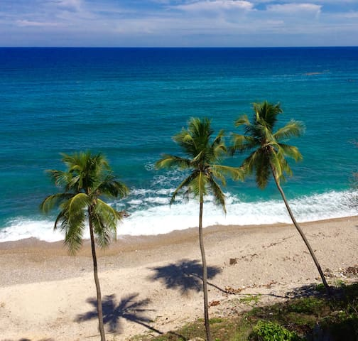 Villa Carmen 1 - Ocean View -Private Beach - Barahona - Vila