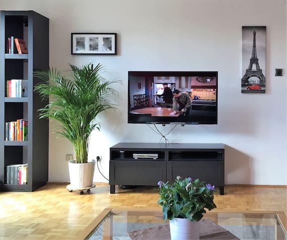 Für Kleinfamilien, Paare, Business-Netflix+Prime! - Graz - Flat