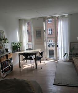 Hyggelig 1-værelses lejlighed centralt på Nørrebro