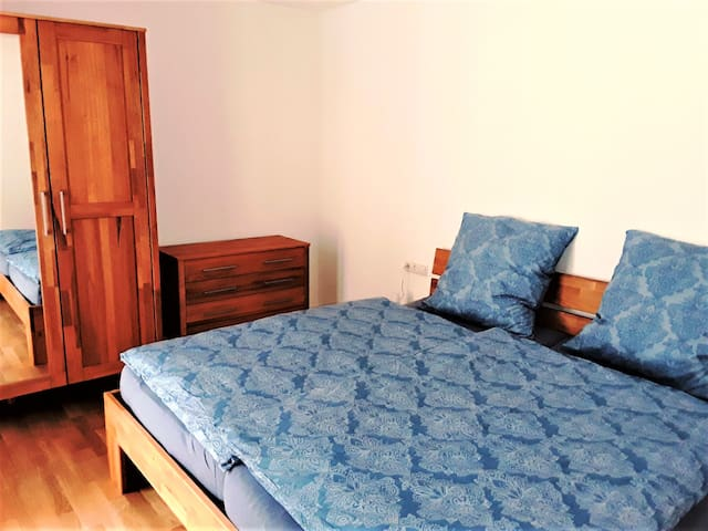 Ferienwohnung Enzblick, (Bad Wildbad), Ferienwohnung Enzblick, 90qm, 2 Schlafzimmer, max. 4 Personen