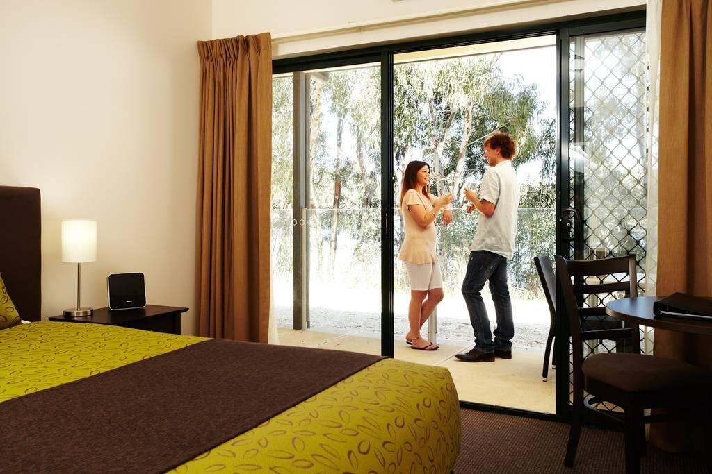 Bedroom of Master Suite in 3 Bedroom Apartment