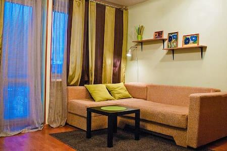 Квартира на сутки - центр города (ж/д вокзал) - Petrozavodsk