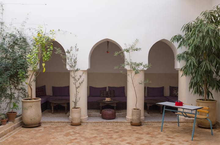 Boutique Luxury Riad in the Medina - Seen on TV!