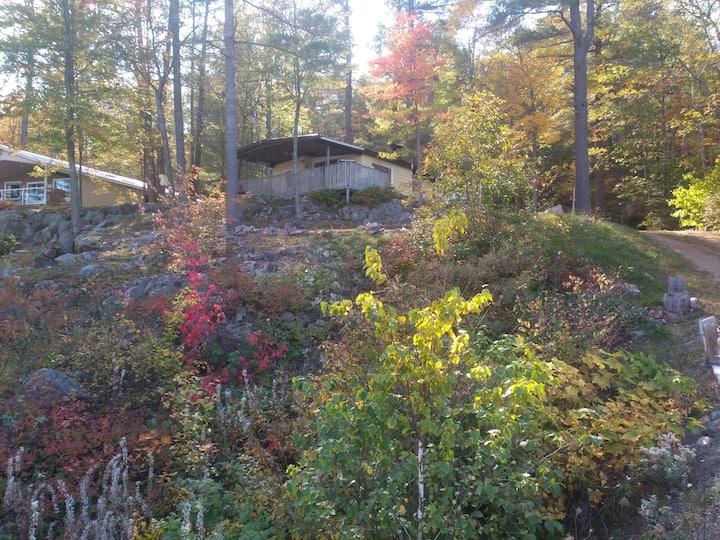 All season cottage overlooking Mazinaw Lake.