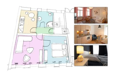 large Appartment in historic old town incl. WiFi