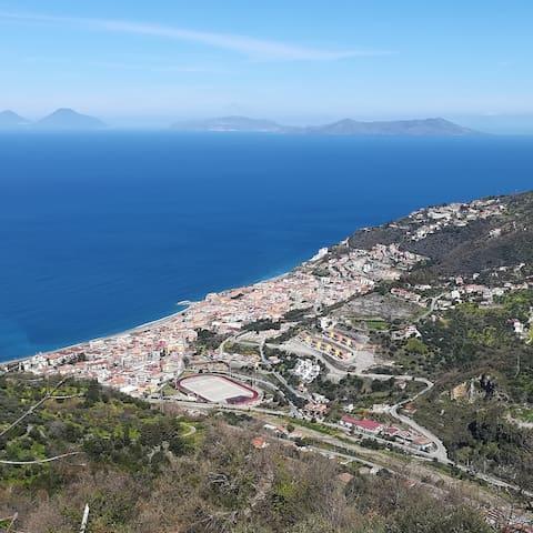 Casa vacanze nelle colline di Gioiosa Marea