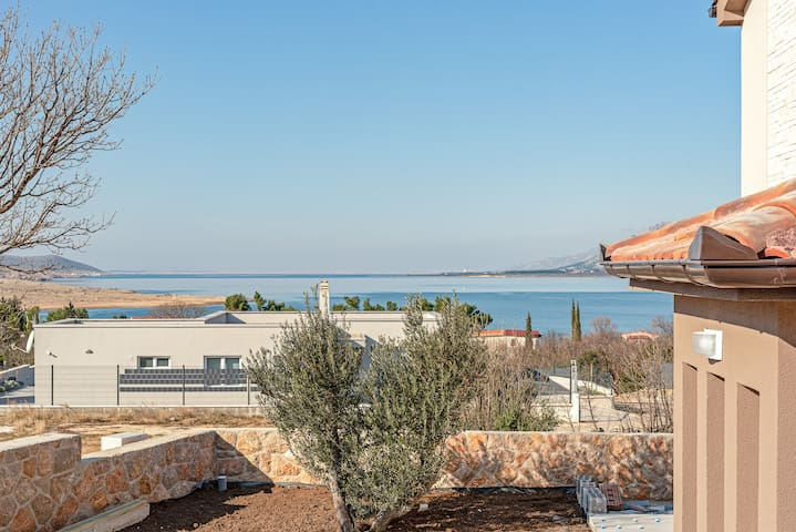 NEW, 2020.! Holiday house Seaview, Zadar county
