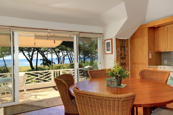 Exclusive Beachfront Cottage, Ocean Views, WiFi/AC
